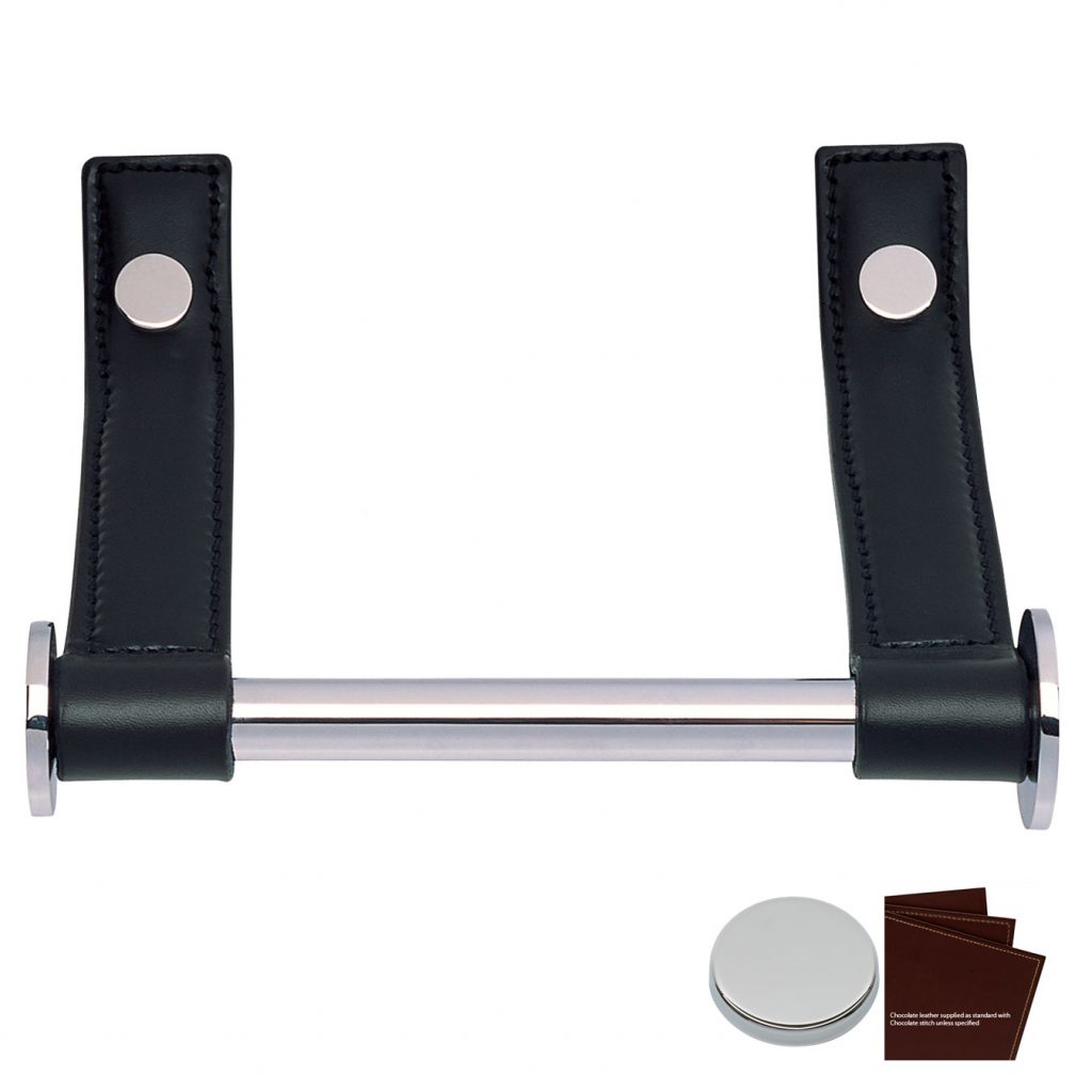 Toilet paper holder Chocolate Bright Chrome - J1207CTBC