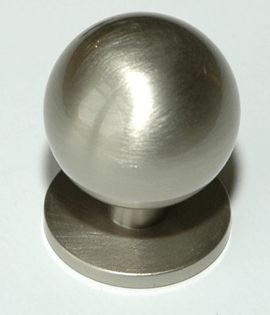 Møbelknott 25mm, Matt Nikkel - 165-25 Satin Nickel