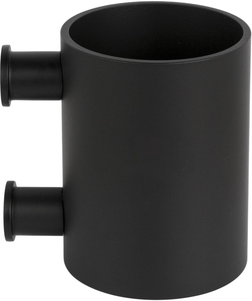 FORMANI ONE PB101 Toothbrush holder wall-mounted satin black