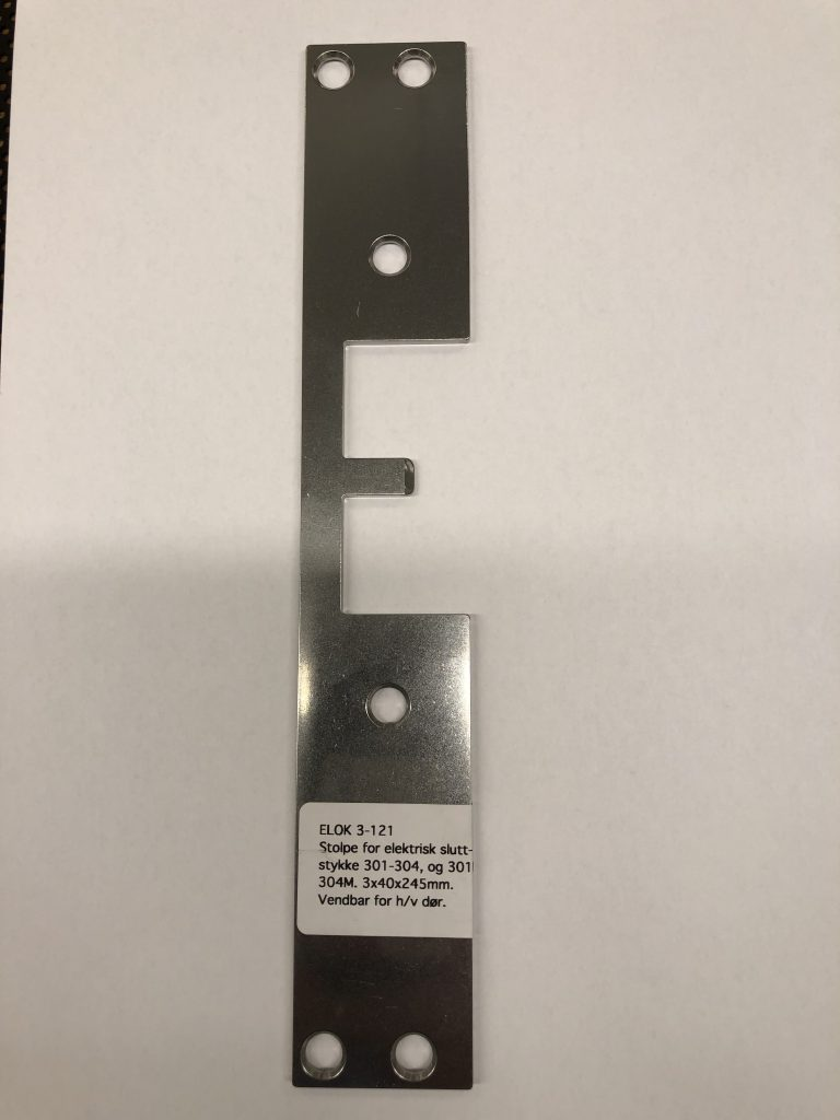 Stolpe, lang, 3x40x245mm - 3-121