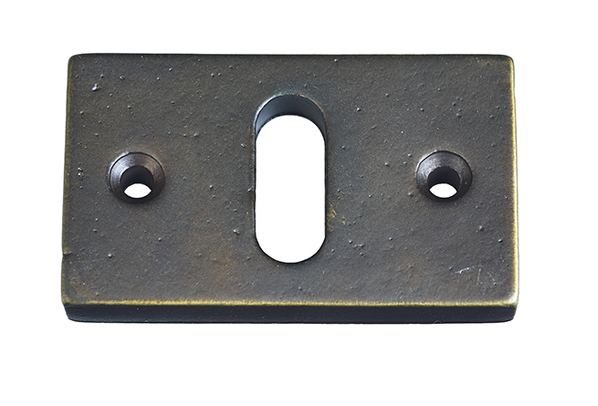 KEYPLATE  / AGED BRONZE / HORIZONTAL / PC