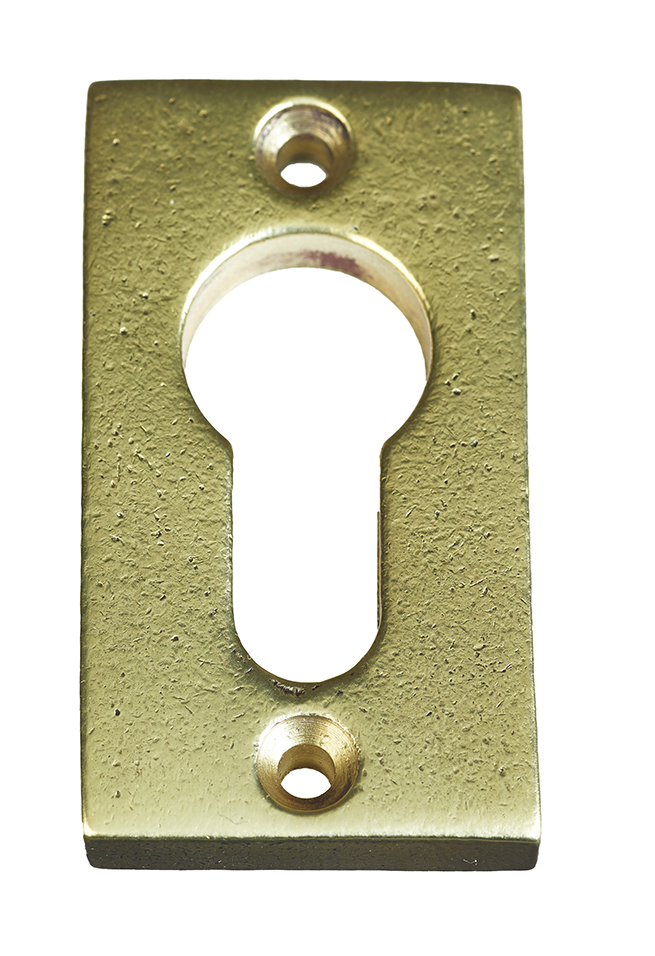 KEYPLATE CYLINDER / AGED GOLD / VERTICAL / PC